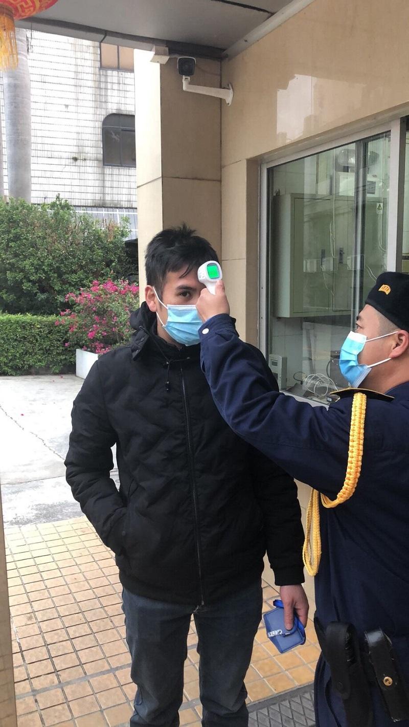 疫情防控,王老吉安保一直在行动